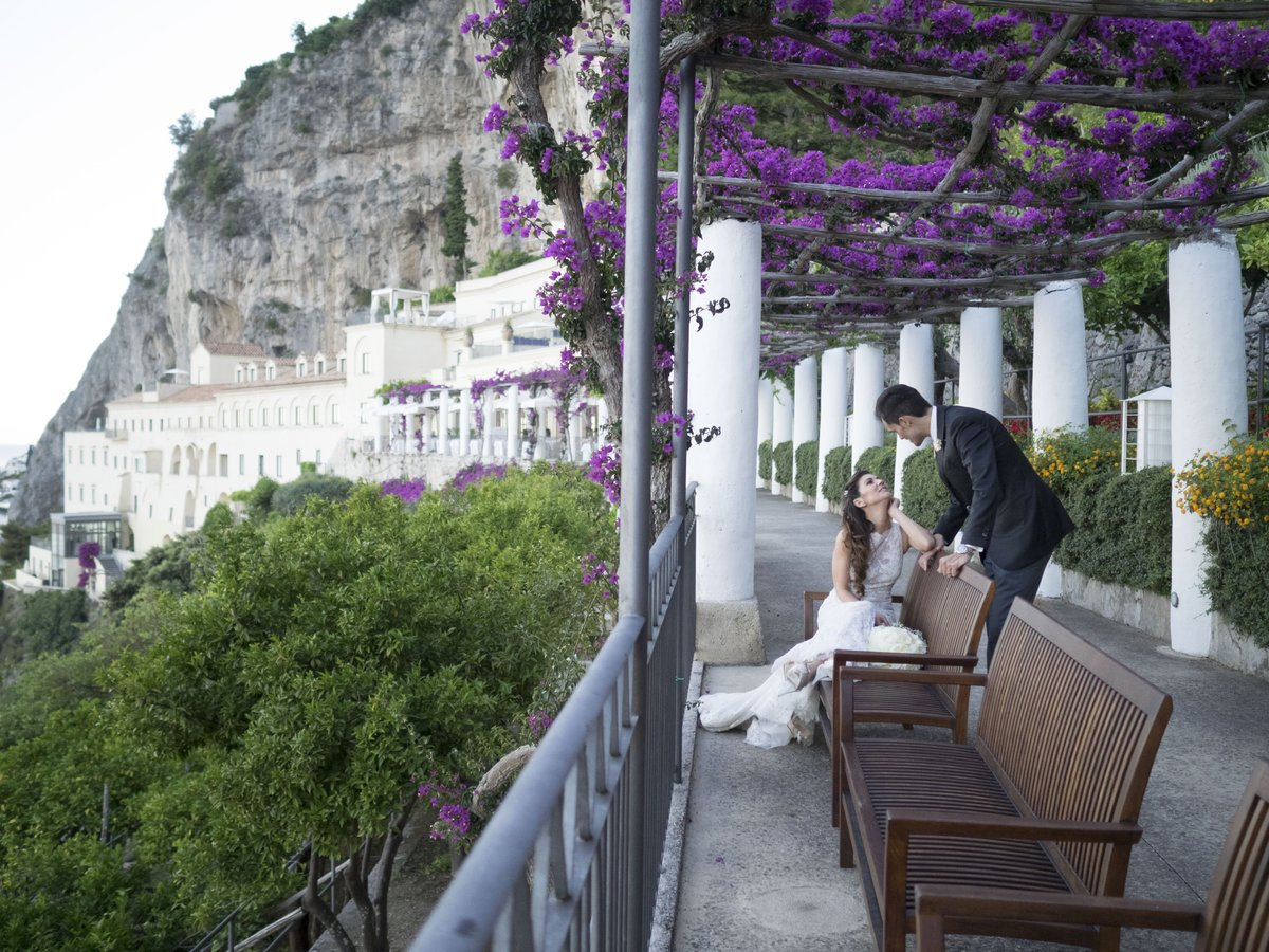 Nh hotels italia on twitter matrimonio ad amalfi for Convento di amalfi