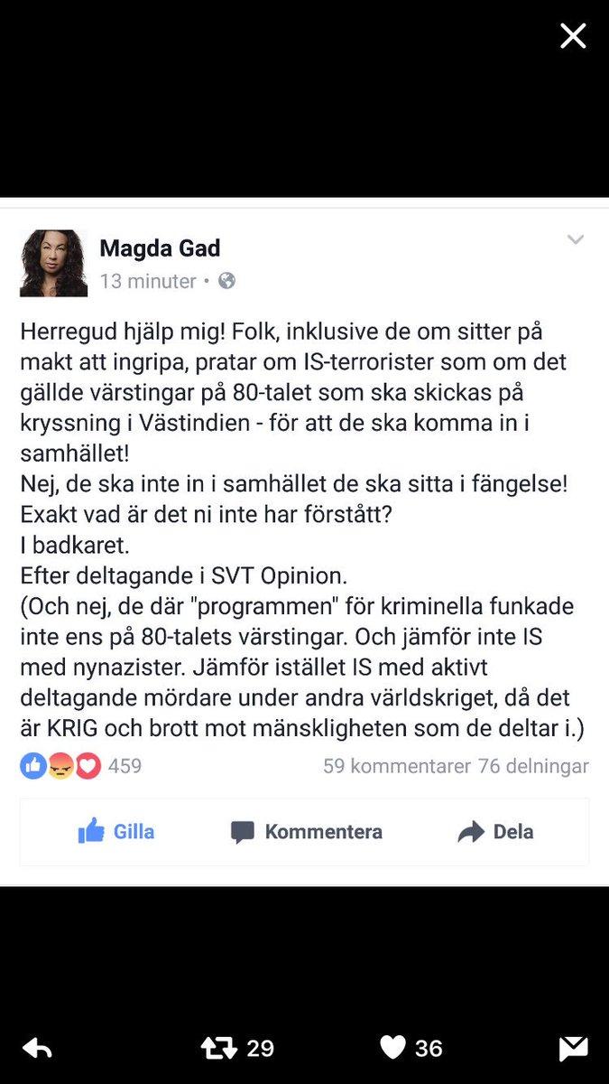 Word. Om ett trygghetsdopat Sverige  där pengar växer på träd och inget ont kan hända och mördare ska tas om hand.
