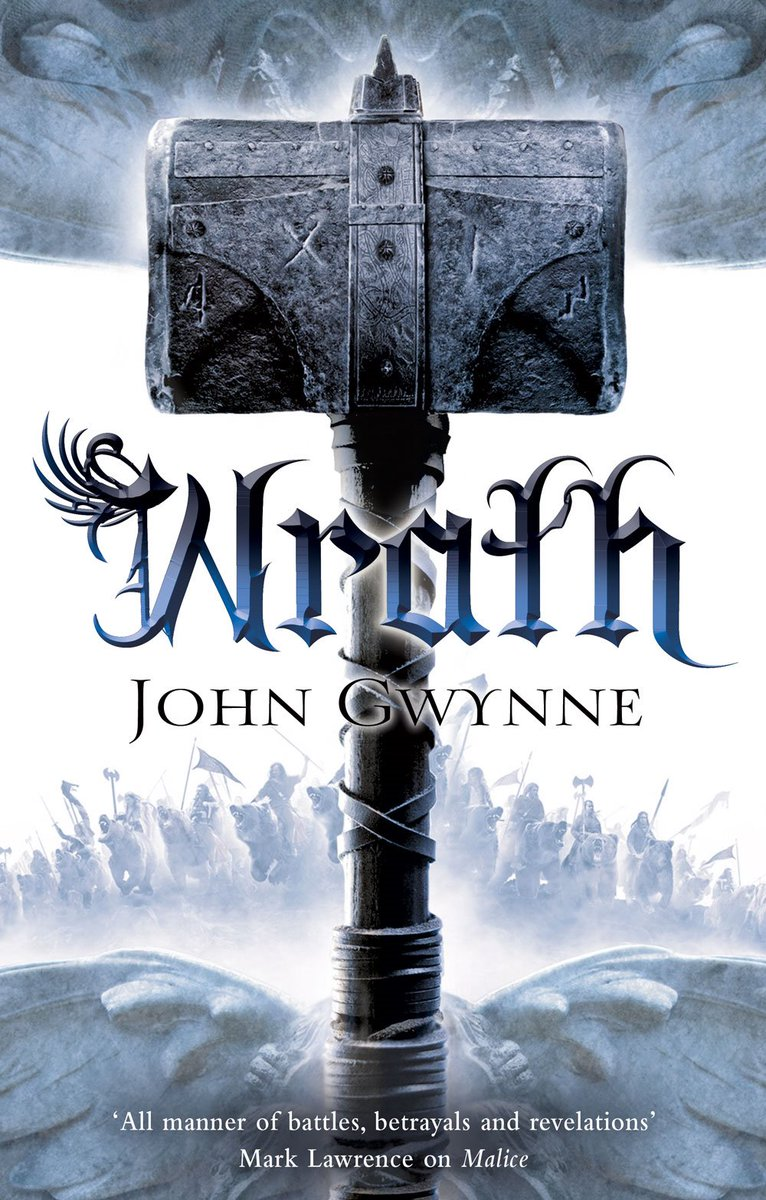 We have that #FridayFeeling so we're hosting a FLASH #GIVEAWAY! RT to win one of 5 copies of #Wrath by John Gwynne! https://t.co/KM3LJDappy