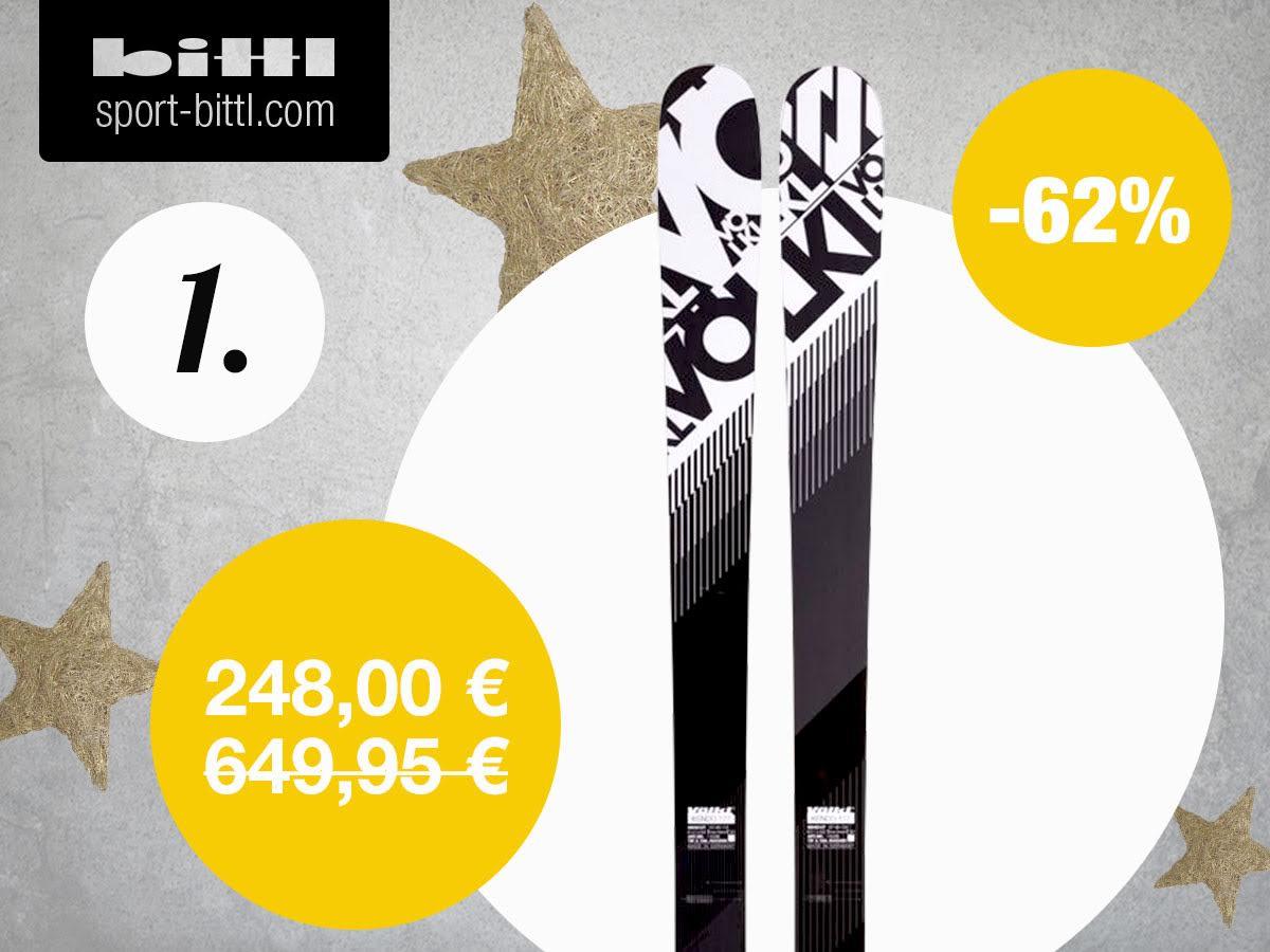 Impresionantes descuentos de @sport_bittl en su tradicional calendario navideño, como estos Völkl con un -62% en https://t.co/LwJyrQaCj7