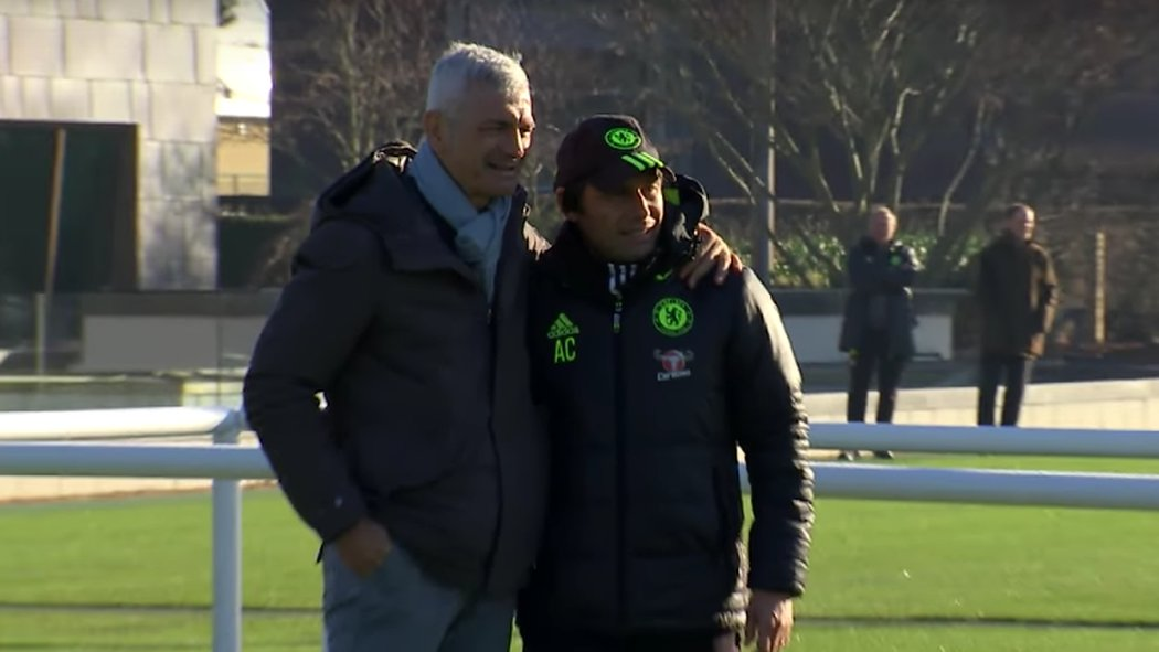 Раванелли и Антонио Конте