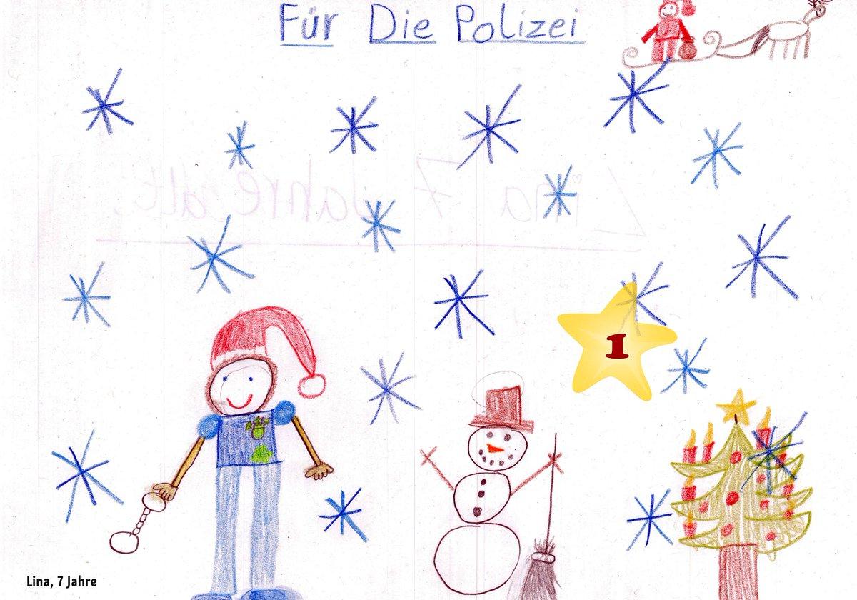 Weihnachtsbilder Gemalt.Polizei Berlin On Twitter Danke Lina Luise Für Eure Polizei