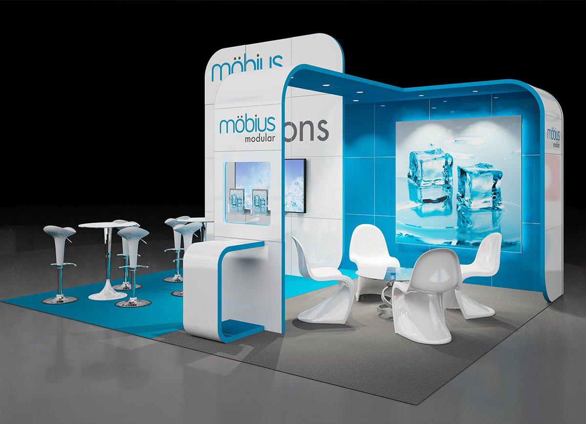 Love expo on twitter 6m x 5m m bius exhibition stand for Bathroom designs 3m x 2m