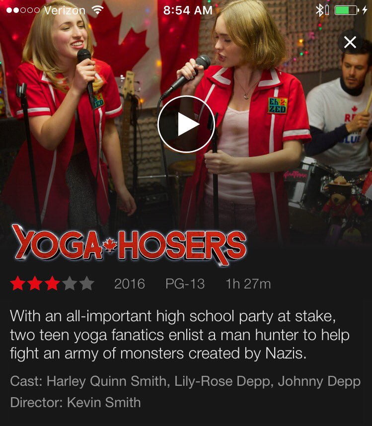 Holy shit! Just found out @YogaHosers is now on @netflix! Can't tell you how happy this makes me! Folks didn't like it but I still love it! https://t.co/qNxDpbU4pC
