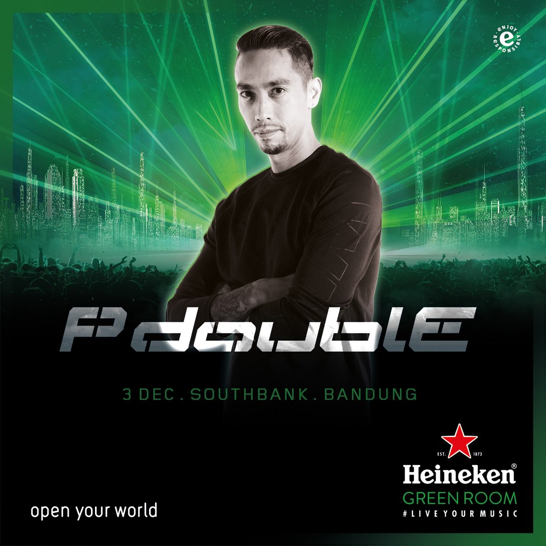 Hello Bandung people, shout out if you're excited for #HeinekenGreenRoom tomorrow. Raise your hand together with @paulpalele #TouchTheMusic https://t.co/KWYjgemnuf