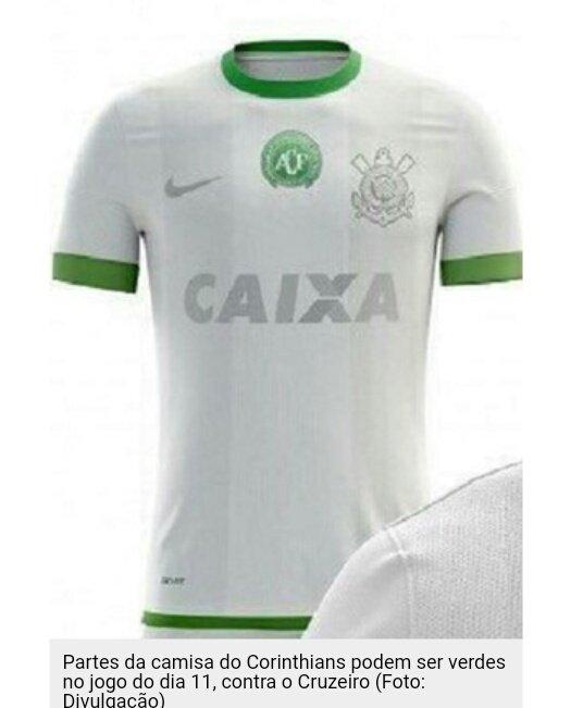 @SelecaoSporTV  Camisa Corinthians Chape...