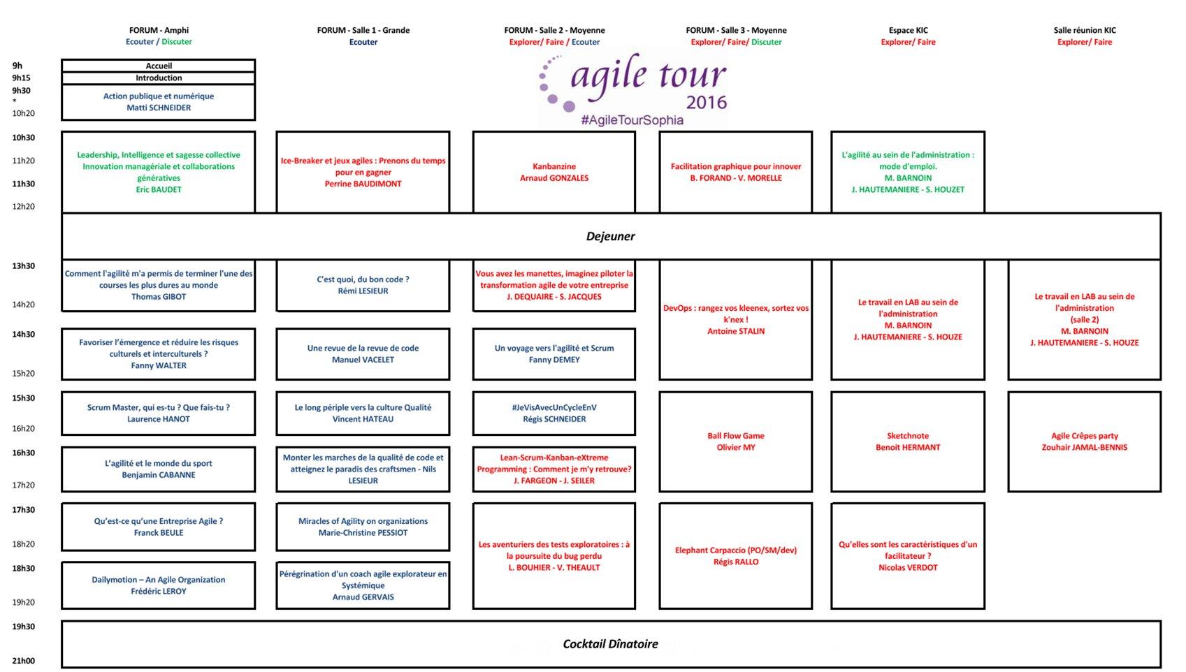 @AgileTourSophia Animation d'un atelier sur le test exploratoire qui a eu beaucoup de succès à #agiletouraixmarseille (places limitées) https://t.co/L663tBSCD3