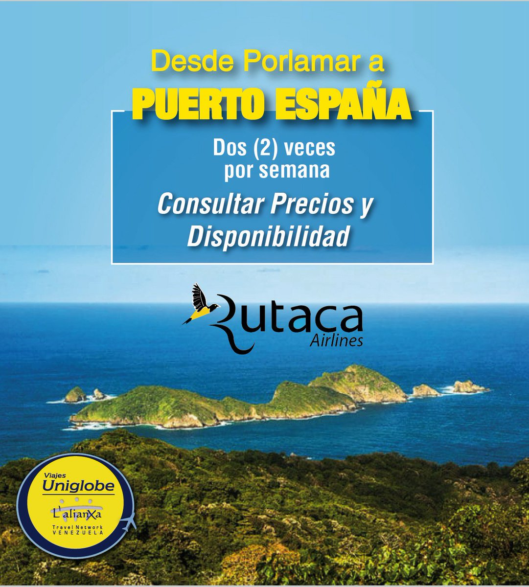 #Puertoespaña con con @rutaca #viajesuniglobe #somosuniglobe #turismo #like #f4f #follow #like4like #instapohoto pic.twitter.com/9lujCFJzYD