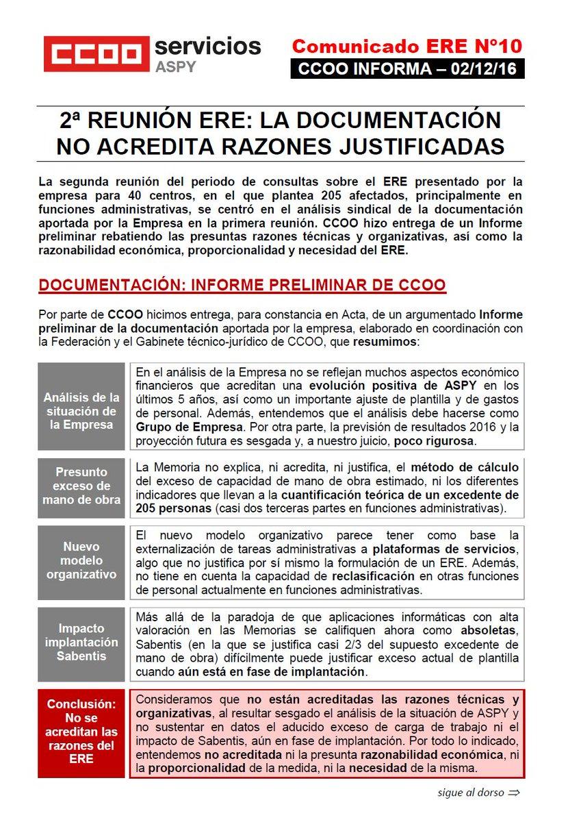 CCOO en ASPY on Twitter: \