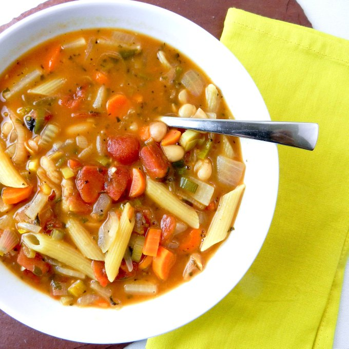 A Little Vegetarian Minestrone