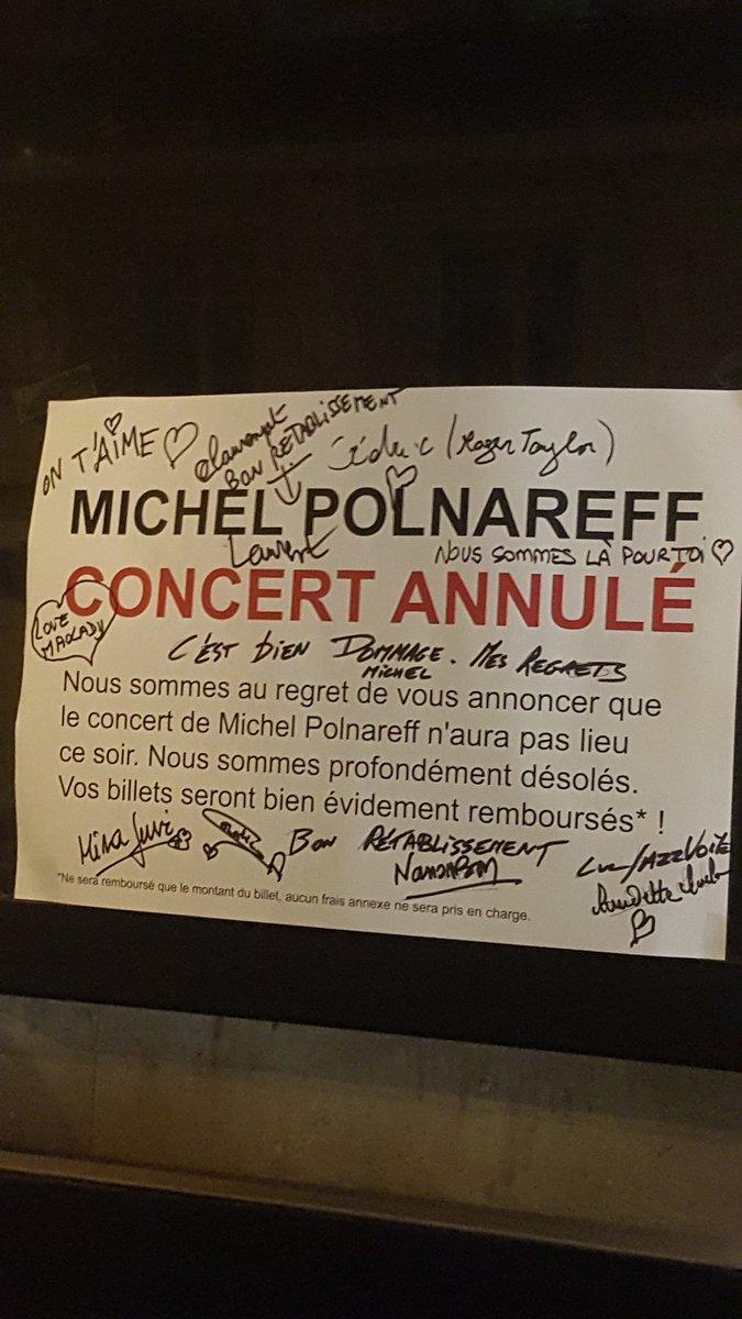 RT @andreeivaldi: @sallepleyel Il reviendra ! Et nous aussi ! @MICHELPOLNAREFF https://t.co/XTWZtyN8Xf
