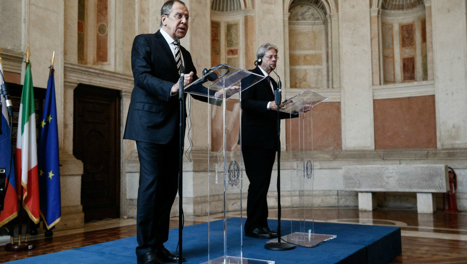 Thumbnail for Sergey Lavrov visit to Italy   Визит С.Лаврова в Италию