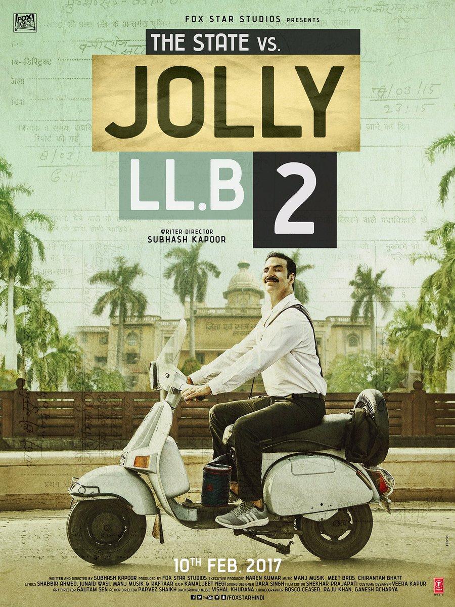 Jolly LLB 2 Teaser Poster starring Akshay Kumar