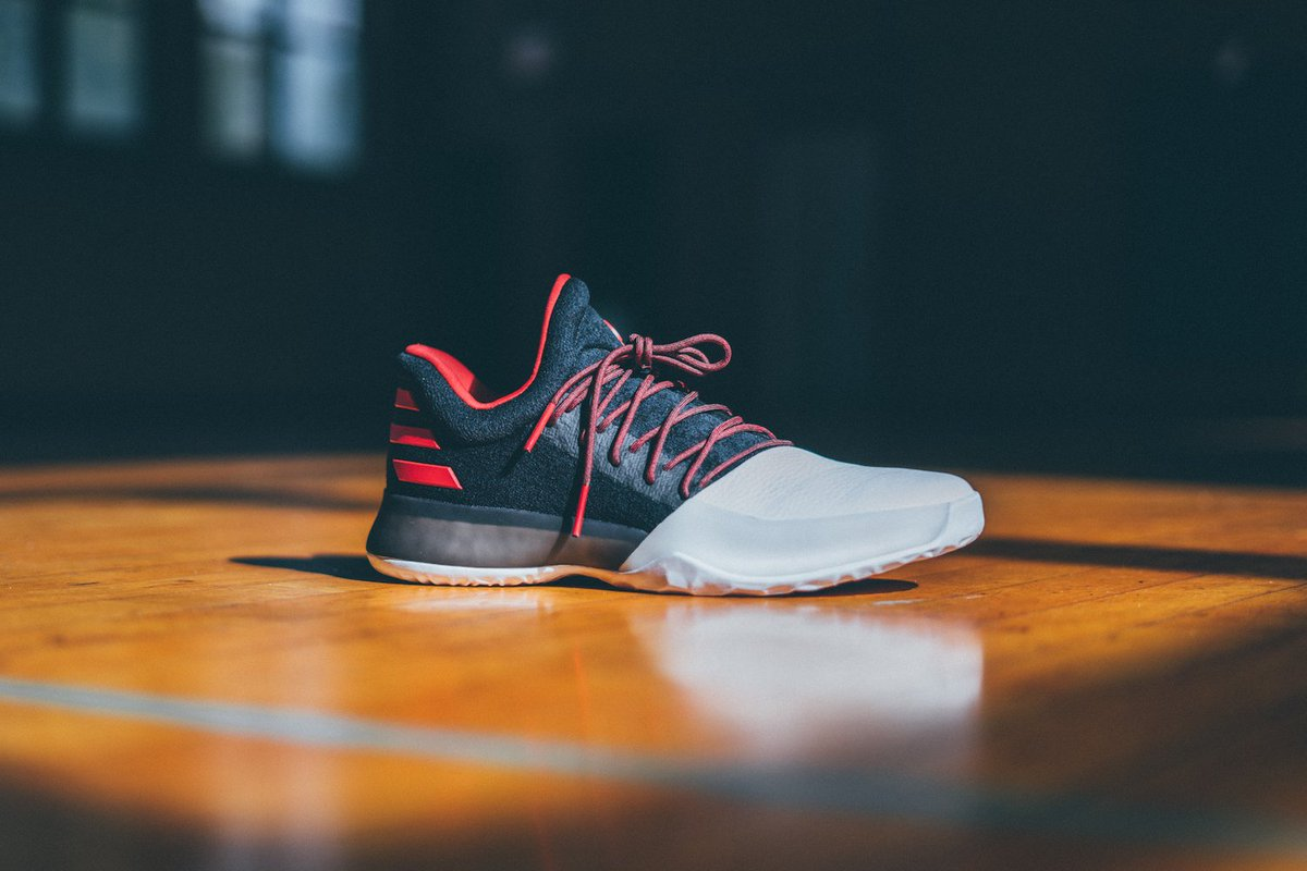 promo code 1788a a99bd 1 arthur ashe bhm lastest  kicks deals canada on twitter the adidas harden  vol. 1 in black red releases tomorrow