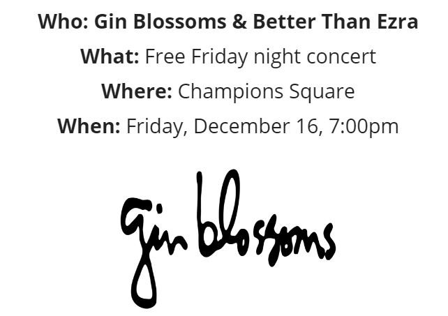 You heard that right. It's @ginblossoms & @EzraliteArmy in concert Friday before the #RLBowl in #NOLA! https://t.co/ZT9BZcgeeR https://t.co/kMTTxLnfEk