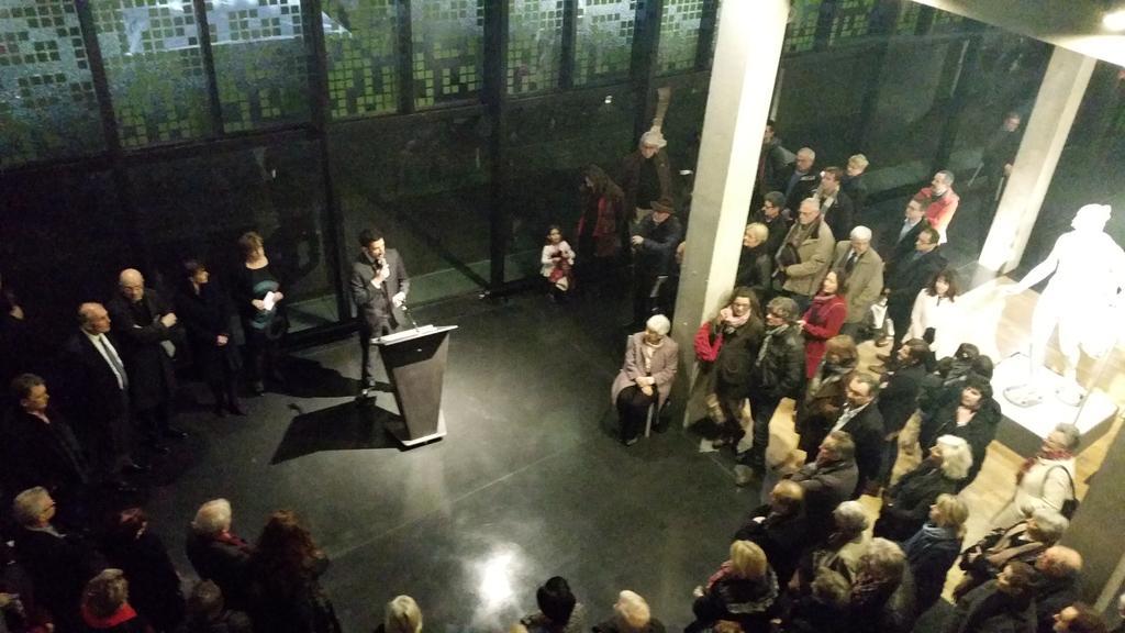 #NiortAgglo le musée Bernard d'Agesci fête ses 10 ans. Lancement des festivités en ce moment https://t.co/xRwO3zSWBx