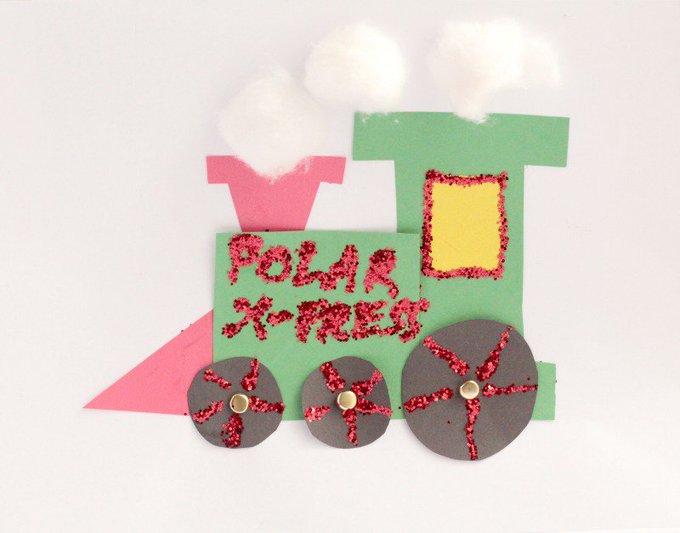 Polar Express Train Craft