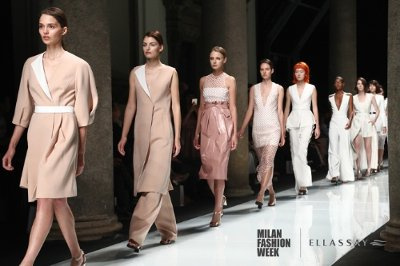Debut at Milan Fashion Week -- ELLASSAY China's Journey to Explore Milan's Art with Elegance