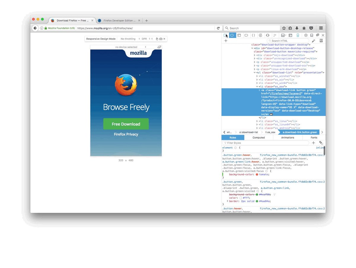 Firefox devtools on twitter what happens to your site on slow make sure you know by using firefoxs responsive design modes network throttling httpstz49rneskpr malvernweather Choice Image