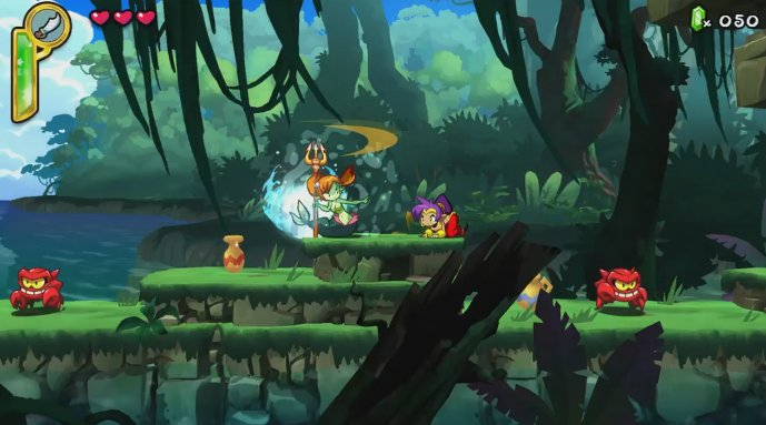 Europe - Wii U eShop lists Shantae: Half-Genie Hero for Dec. 20th release