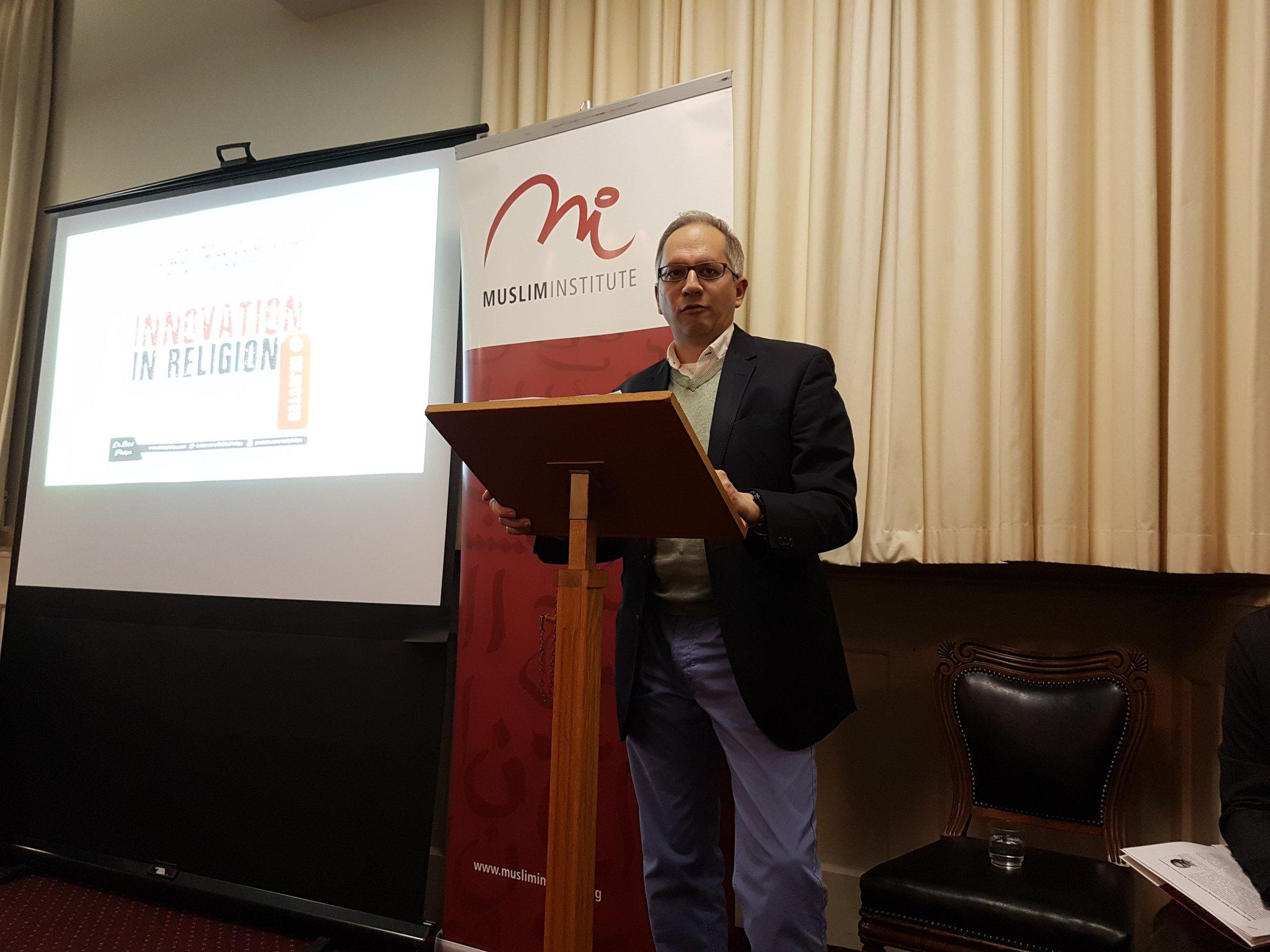 "After my poem reading @MuslimInst #wintergathering the  keynote speaker @EhsanMasood on ""Innovation"" chair @shanonshah https://t.co/9VvPqSxHAs"