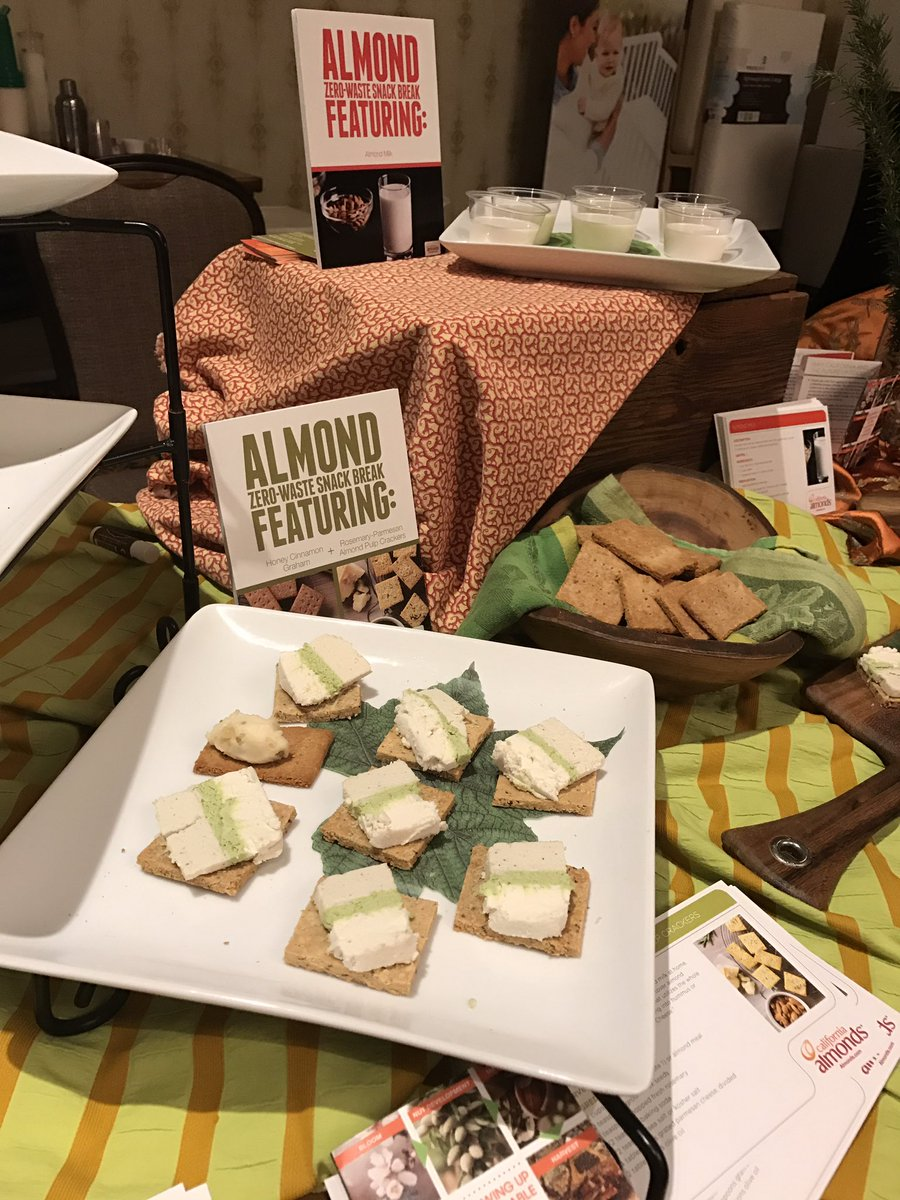 Did you know almonds can make hundreds of delectable desserts, meals, and snacks? @almonds #ShiftConatHome #shiftcon https://t.co/YGvMQDhAQ7
