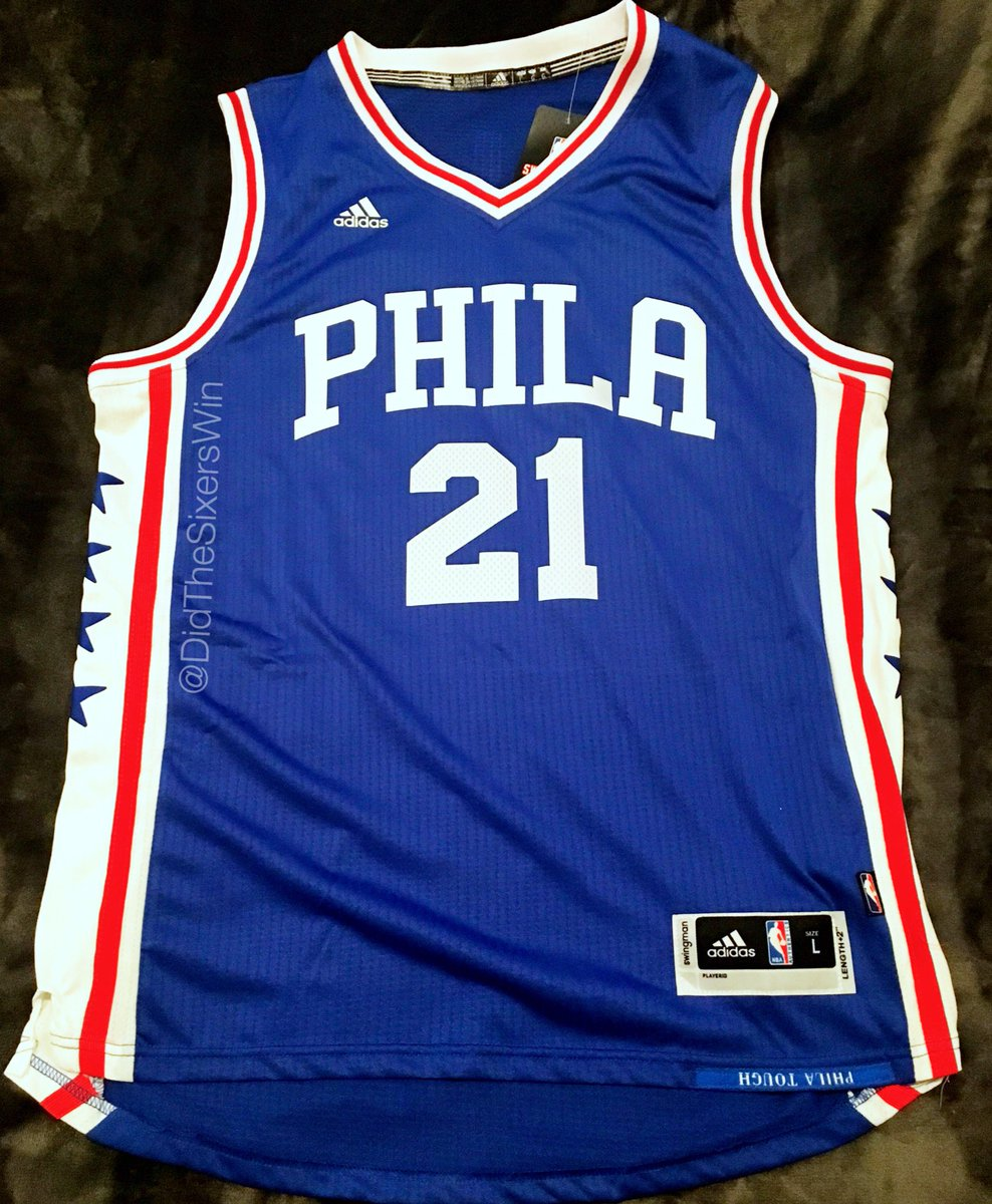 EMBIID JERSEY GIVEAWAY 🚨 RT for a chance to win (must be following). Winner  will be chosen at halftime of Sixers-Lakers cf5f0ed76
