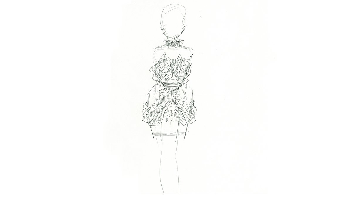 Project Runway On Twitter Our Projectrunway Sketch Of The Week Goes To Designermahjing
