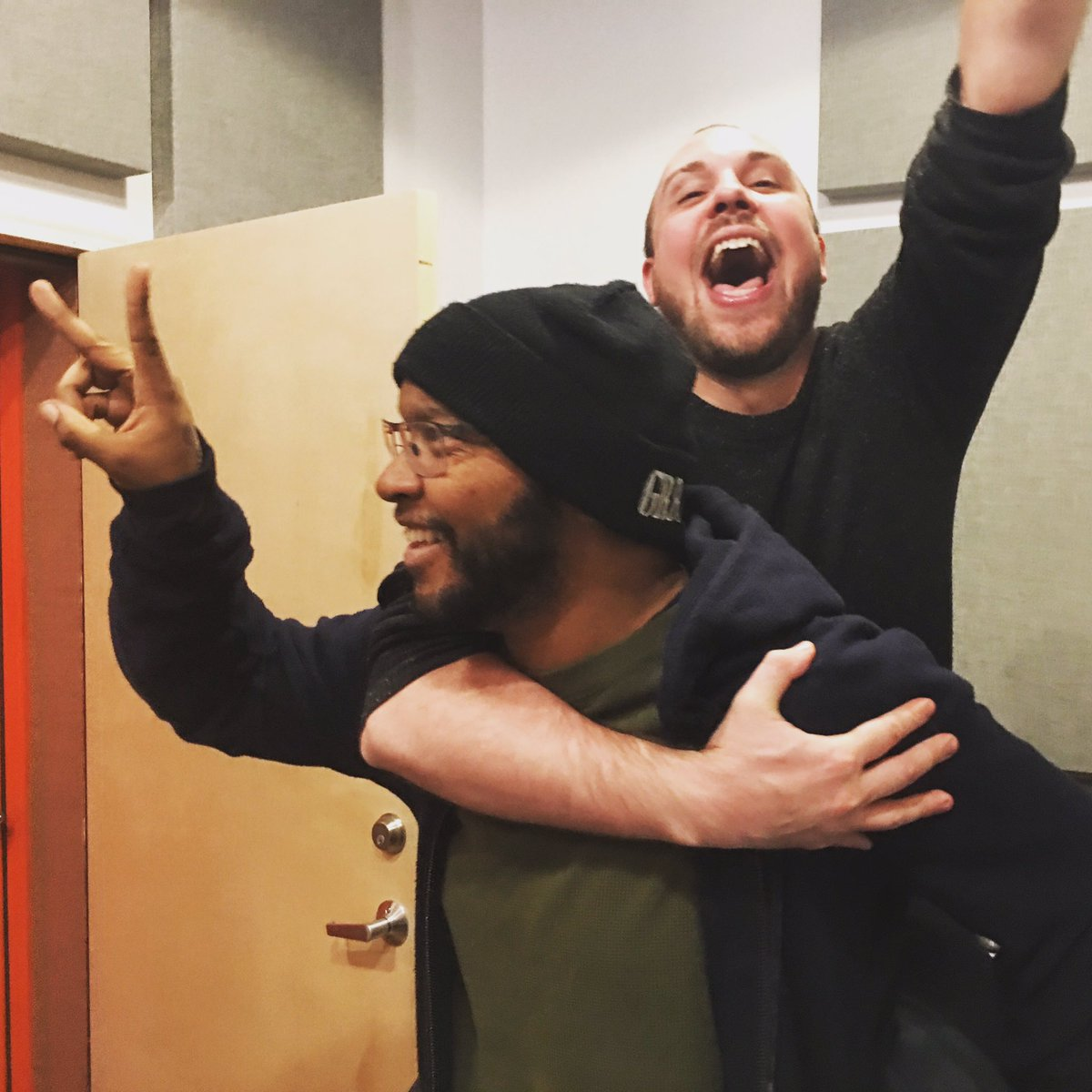 OMG IT'S DONE!!! New @yeahrightpos album in the can. https://t.co/Zm5L5PEiW5