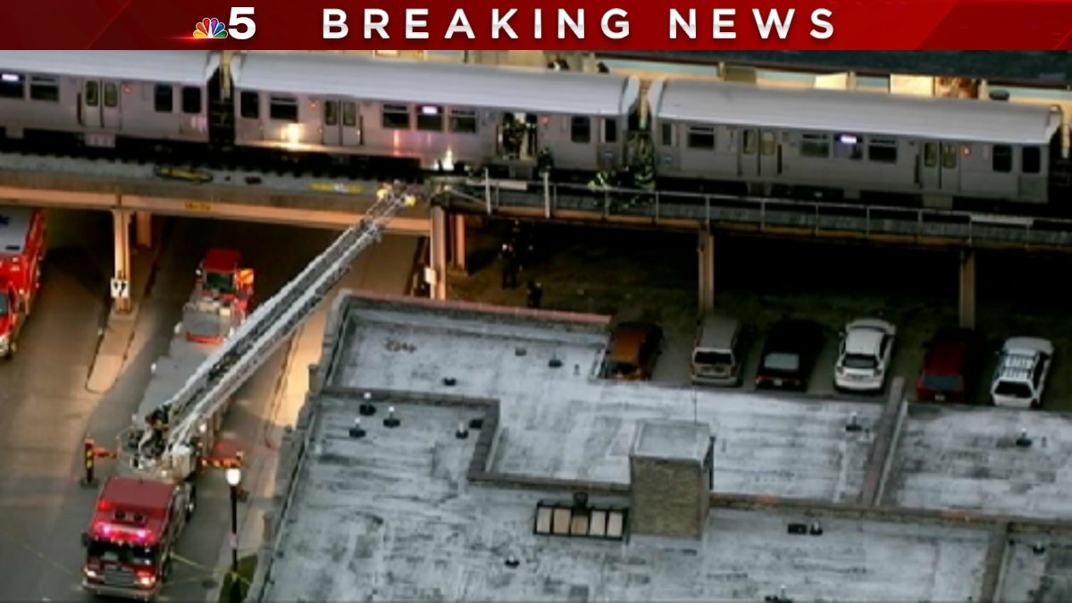 UPDATE: Person dies after being 'pinned' under CTA train in Evanston, police say