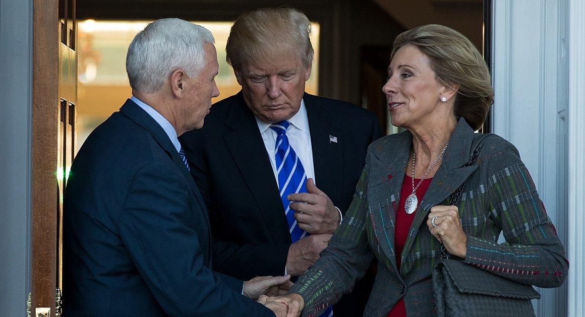 Trumps Education Pick Says Reform Can >> Politico On Twitter Trump S Education Pick Says Reform Can