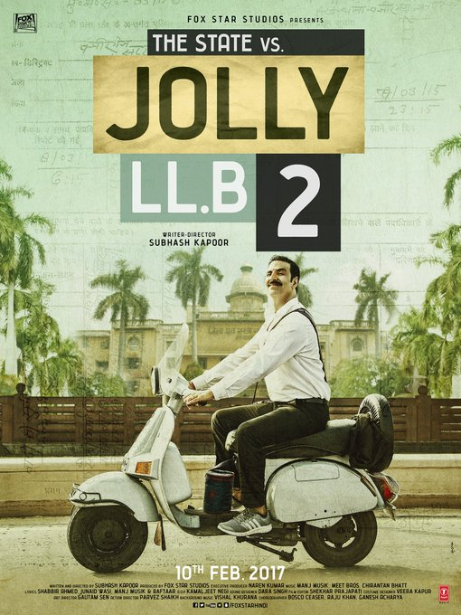 Here is the first look of @akshaykumar as #JollyLLB2 @foxstarhindi https://t.co/GCEMc75AqC