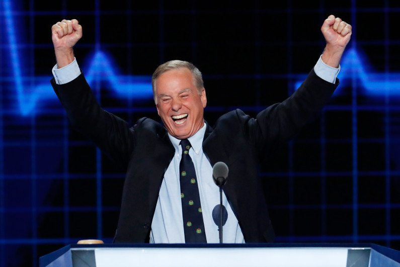 In Denver, Howard Dean drops out, others campaign to lead DNC