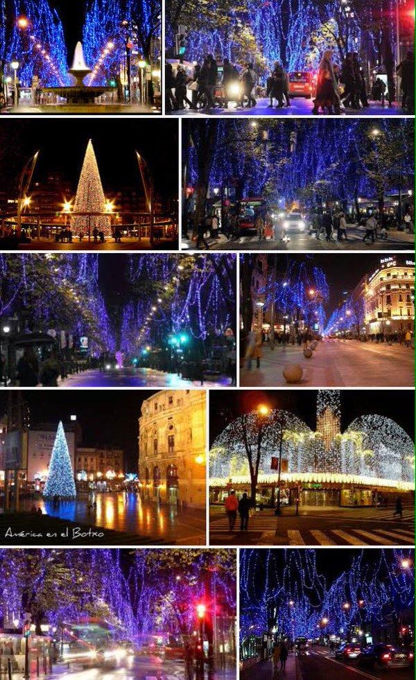 Bilbao presume de la iluminación navideña más espectacular del estado https://t.co/wlQDr5TPM6 https://t.co/crGDclYBWG