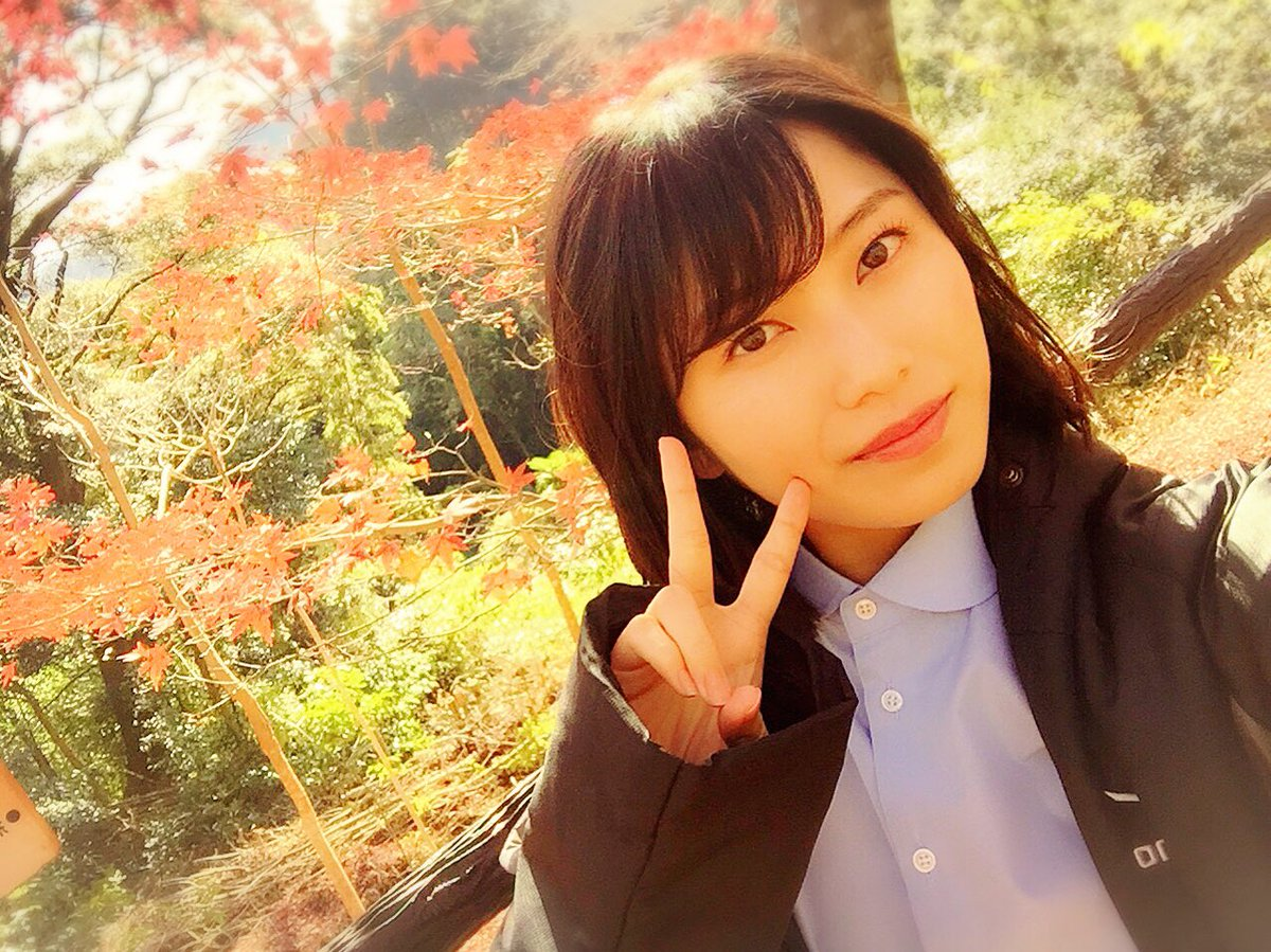 京都の紅葉と横山由依