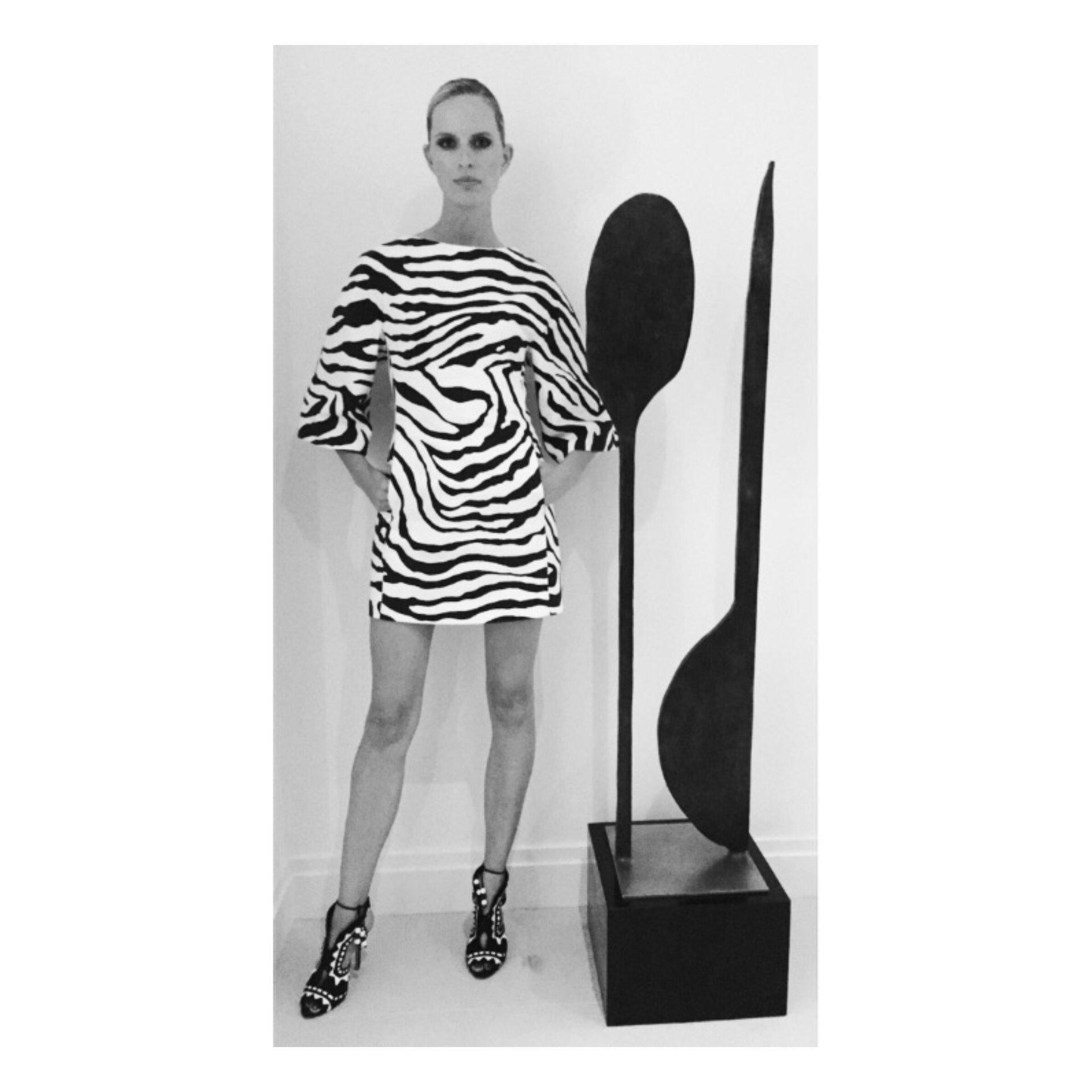 It's a Zebra Print kind of Night #ArtBaselMiami #ArtBasel #Art #BlackandWhite #Miami #Fashion #KKstyle #Style https://t.co/s4iRranYDh