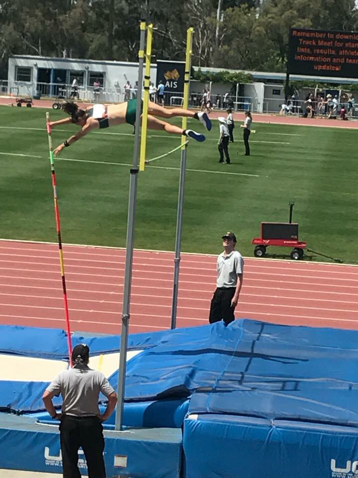 Image result for raph corney pole vault