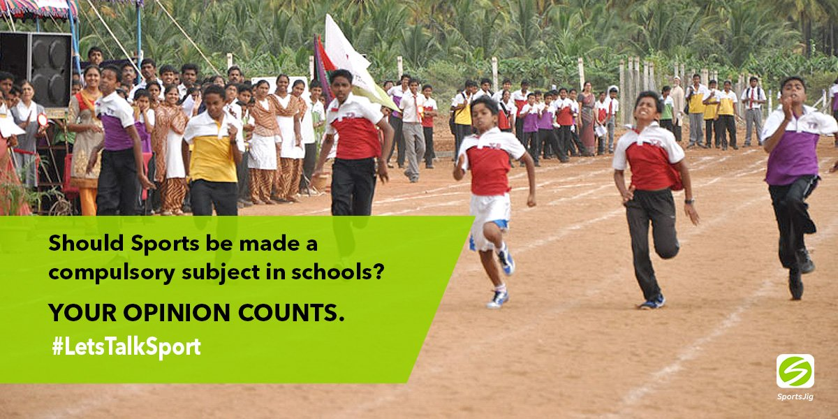 should sport be compulsory at schools Sports and physical activities should be made compulsory in our universities intramural sports being a phase of school physical education should provide a platform for sporting activities for.