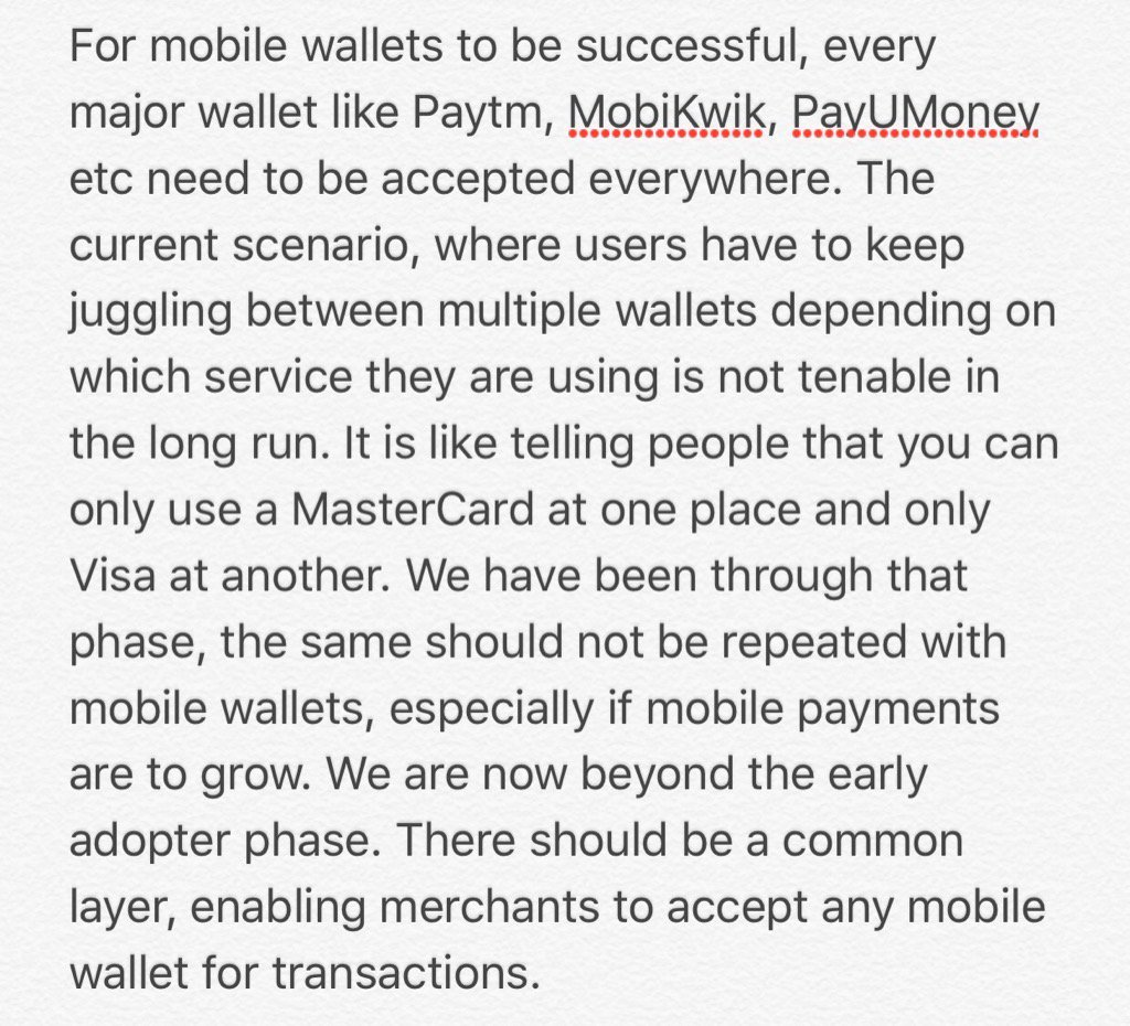 Some thoughts about the current state of mobile wallets. https://t.co/EZqyU68H1B