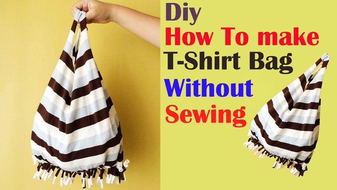 T-shirt Bag DIY