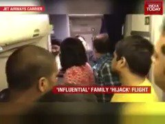 Ruckus on board Jet Airways Mumbai-Bhopal flight. Watch #ITVideo to know more.