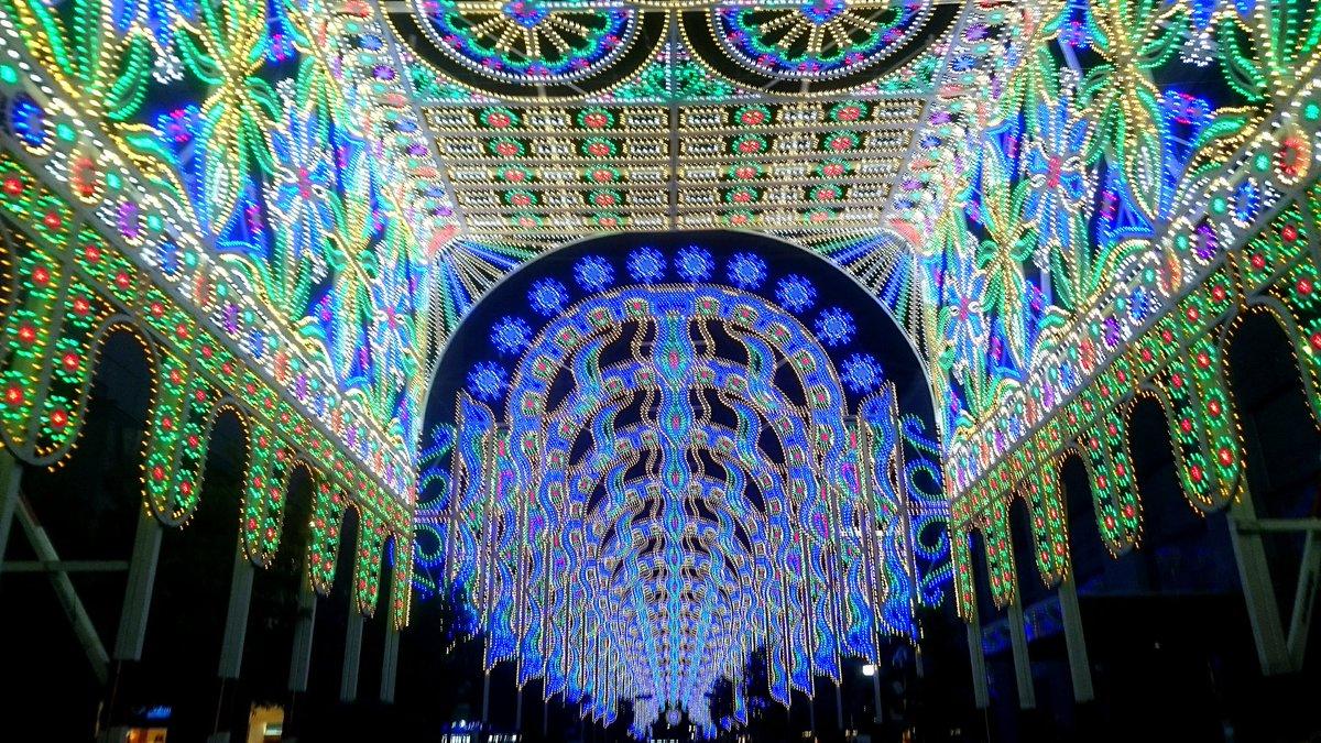 神戸ルミナリエ、めちゃきれいです  ^^ https://t.co/IAcPhLqfkI