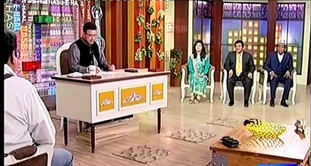 Hasb e Haal - 2nd December 2016 - Comedy Show thumbnail