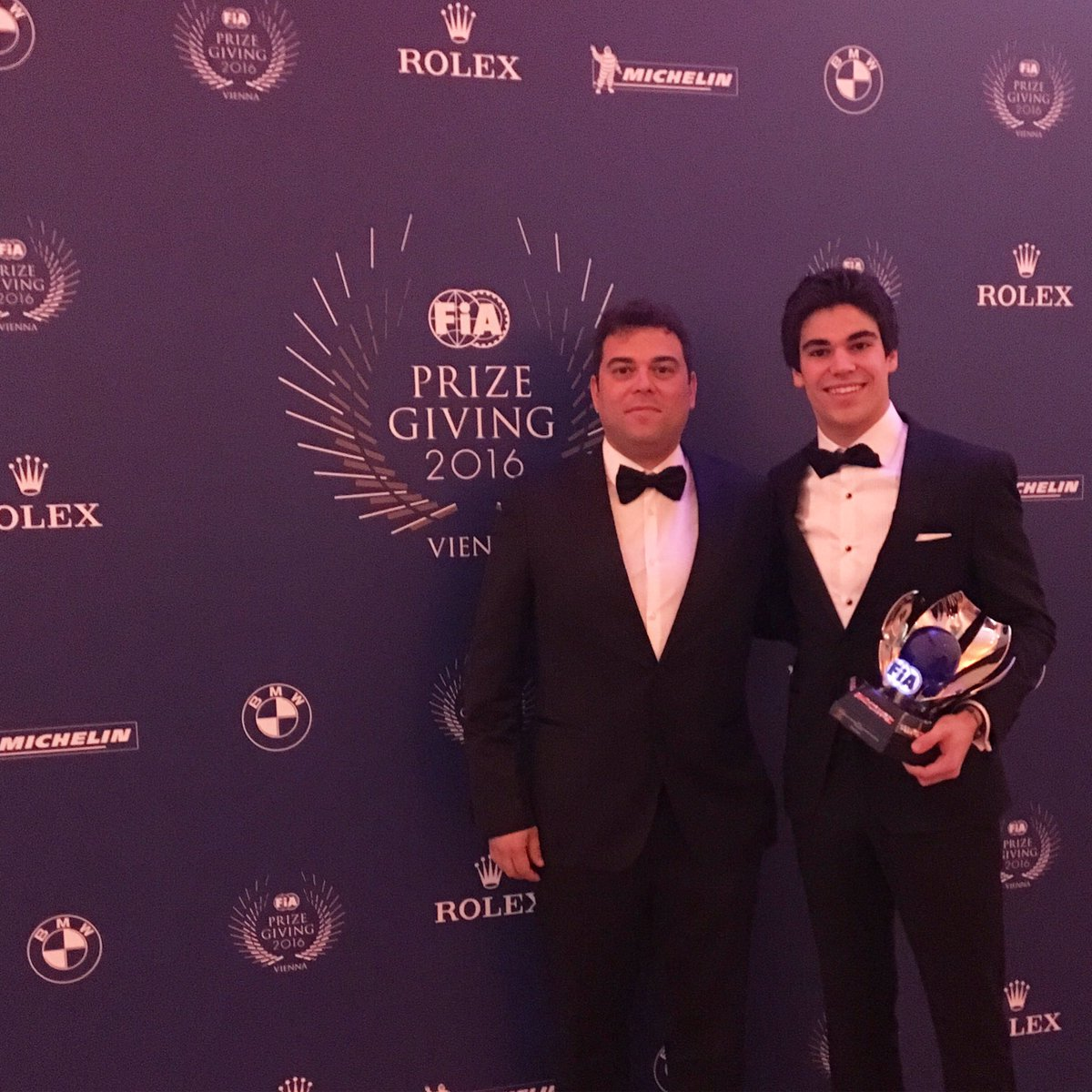 A year to remember #FIAPrizeGiving #Formula3 #EuropeanChampion @PREMA_Team