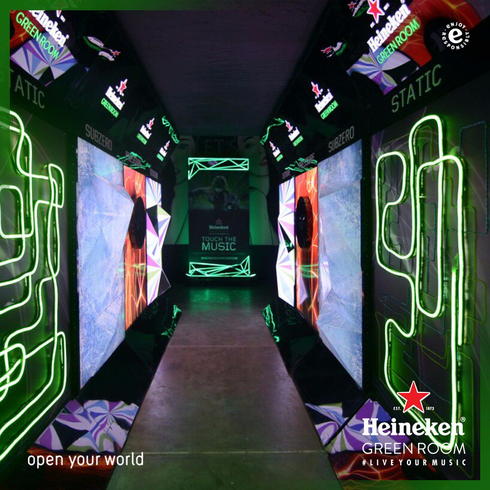 We are ready for the final #HeinekenGreenRoom in Southbank Bandung. Let's #TouchTheMusic tonight! https://t.co/Mv8wij0Sor
