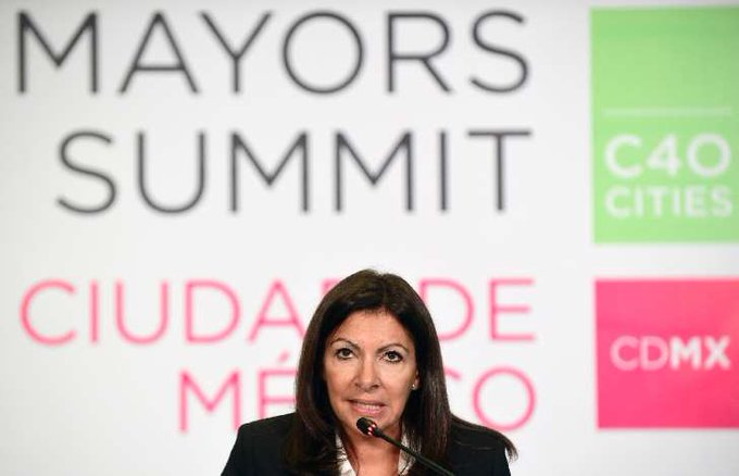 anne hidalgo paris mayor city sustainable summit cdmx