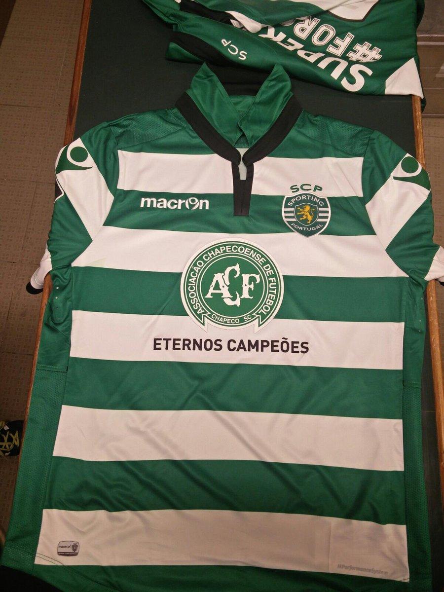 Estas são as camisolas que hoje vamos usar frente ao Vitória FC! #ForçaChape
