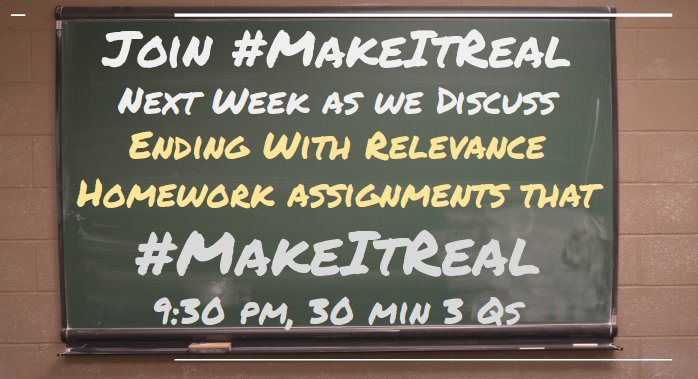 A5: This is the topic of #MakeItReal this Wed, 9:30 pm EST for 30 min. Join us #satchat #satchatwc https://t.co/BOxds9CecN