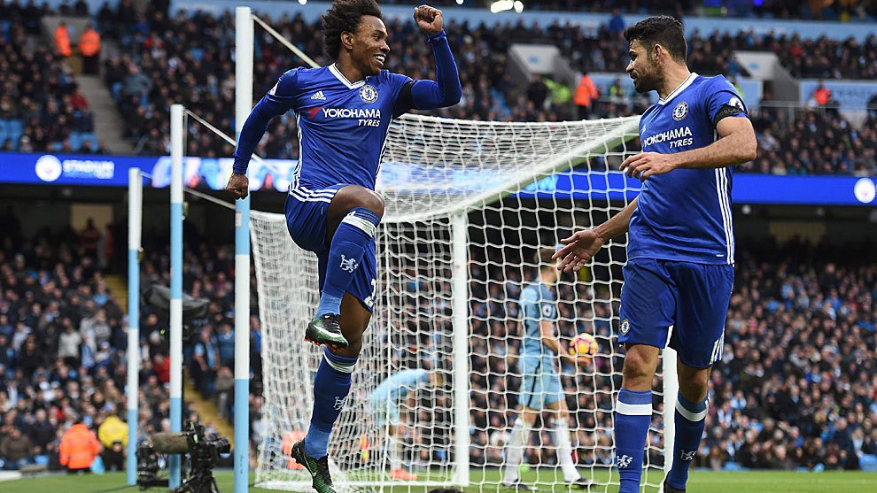 Manchester City-Chelsea finisce 1-3 con due espulsioni: Conte vola in Premier League
