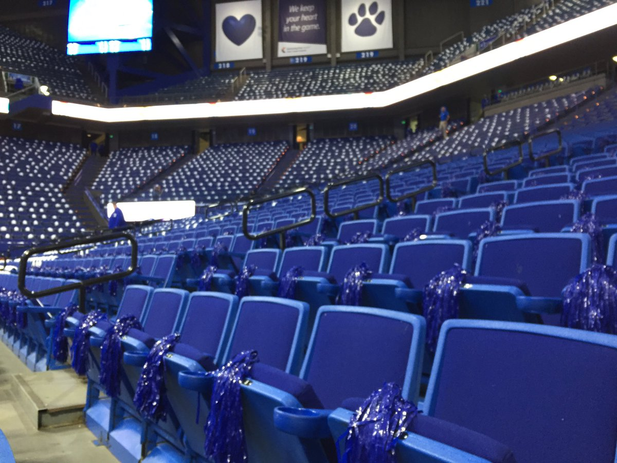 Rupp Arena Rafters Getting Painted Blue: Kentucky Sports Radio